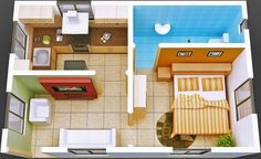 apartments small house design plans house designs plans small rv in small house plans ideas Smart Small House Plans Ideas Kerala House Design, Small House Design, Modern House Design, Small House Plans, House Floor Plans, Kerala Houses, Apartment Floor Plans, Small Modern Home, 3d Home