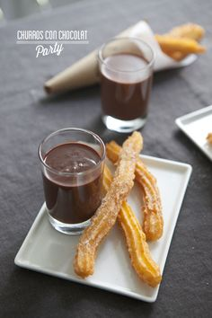 A Churro con Chocolat Party | Oh Happy Day!