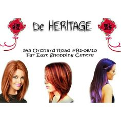 De Heritage - It's 6 days to Chinese New Year! Grab your last chance to get your hair ready for the upcoming gathering! Call us at 6235 5188 for an appointment or visit De Heritage at 545 Orchard Road B1-06/10 Far East Shopping Centre S(238882).