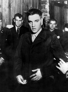 Elvis at Fort Chaffee. March 26th, 1958