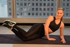 50 Shades of Glutes: Mat Exercises - SELF