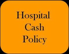 Manoj Gehi's View's On General Insurance, Life Insurance & Personal Finance.: HOSPITAL CASH POLICY