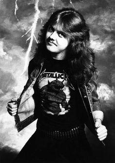 Lars Ulrich- circa 1980's. SO HOT #metallica