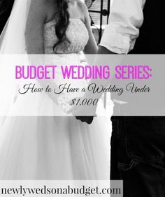 Want to have a wedding under $1,000? This is possible! Find out how Kim spent only $600 on her wedding.