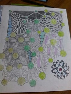 ZENTANGLE POR ANGEL RIVERA