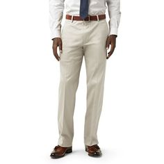 Men's Dockers® Iron-Free Stretch D2 Straight-Fit Flat-Front Pants, Size: