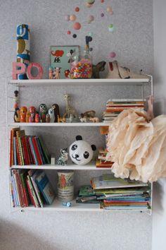 Kids room - String shelf - Lovely Life
