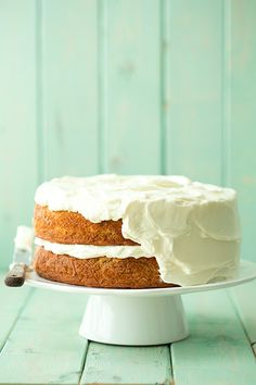 banana cake with fluffy cream cheese frosting | Cooking Classy
