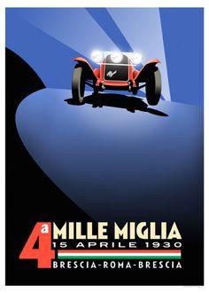 Mille Miglia & Alfa... Inseperable duo...