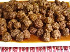 Mini Meatballs / Albondiguitas Recetas dominicanas. Dominican food!