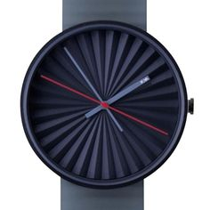 Plicate watch by Benjamin Hubert. Available at Dezeen Watch Store: www.dezeenwatchstore.com #watches