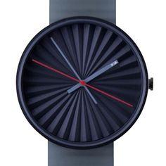 Plicate watch by Benjamin Hubert. Available at Dezeen Watch Store: www.dezeenwatchstore.com #watches