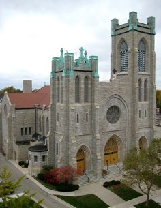 Michigan   St. Mary's Catholic Cathedral in Lansing, MI - From your Trinity Stores crew.