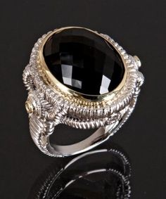Judith Ripka cocktail rings - my go to