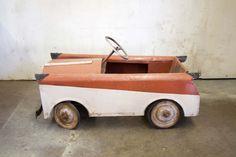 Amazing Working English Toy Pedal Car~~