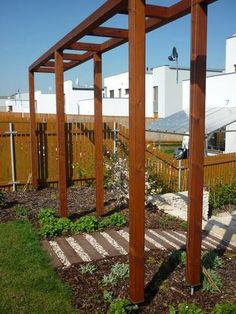Zahradní treláž Garden Ideas, Pergola, Arch, Outdoor Structures, Gardening, Longbow, Outdoor Pergola, Garten, Arches