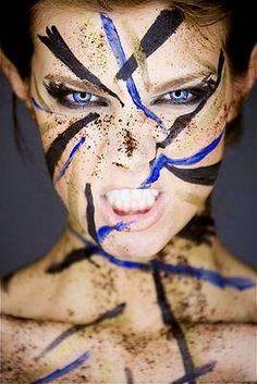 Up-Close Facial Portraits : Up Close Facial Photography