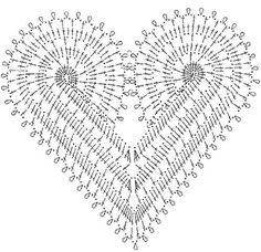 Esquemas de corazones | SexyCrochet.COM