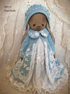 Ульяна - коричневый,зайка,зайка девочка,зайка тедди,зайка в одежде,зайка в платье