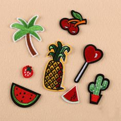 FUNIQUE Mixed 8PCs Patch Applique For Jeans Clothes Iron On DIY Garment Hats Accessories Clothes Decoration Sew On Patches