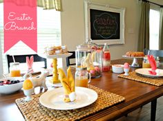 Easter Brunch - Table Ideas