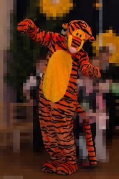 Костюм тигры ростовая кукла
