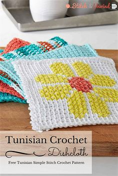 Crochet Gift Patterns: Potholders, Towels and More Kitchen Crochet