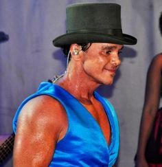 Netinho no palco do seu show no Reveillon das Águas, em Fortaleza/CE, no Aquaville Resort. Em 2011.