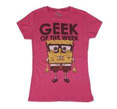 Spongebob Geek of the Week T-Shirt