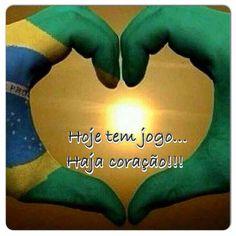 Esporte-Futebol-Copa do Mundo 2018-Frase-Hoje tem jogo... Haja coração!!!
