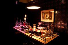 Restaurant Project, Japan. Minispiral - Black Gold.