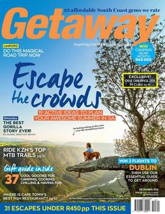 """#MagLoveTop10 29 January 2016: """"Best Travel Magazine Covers of 2015."""" #5. Getaway, December 2015."""