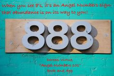Numerology: Angel Number 888 Meaning | #numerology #angelnumbers