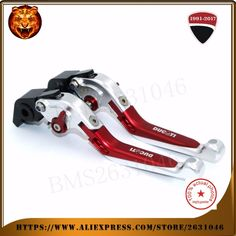 42.77$  Buy here  -  For  DUCATI Diavel/carbon 1199 899 Panigale Streetfighter S 848 Motorcycle New Adjustable Folding Extendable Brake Clutch Leve