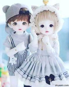 Couple Doll Images For Whatsapp Dp Cute Love Wallpapers, Cute Baby Wallpaper, Cute Couple Wallpaper, Cute Cartoon Wallpapers, Hd Wallpaper, Cute Baby Dolls, Cute Toys, Beautiful Barbie Dolls, Pretty Dolls