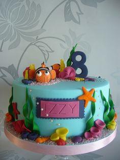 Underwater cake | underwater theme cake — Children's Birthday Cakes
