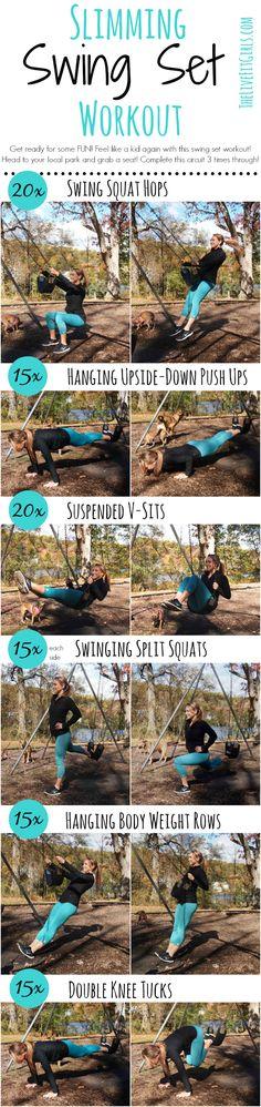 Slimming Swing Set Workout! - So much FUN!