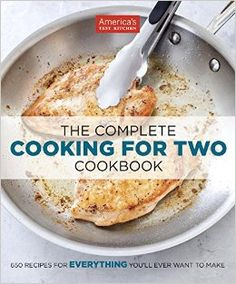 I'm a huge fan of America's Test Kitchen. Some of my favorite recipes are from there. Cooking for Two is no different. (ad)