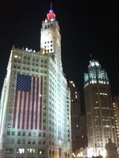 Wrigley Building@Night