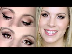 Too Faced Chocolate Bar ♡ Classic Matte Eyeshadow Tutorial & Pink Nude Lips! - YouTube