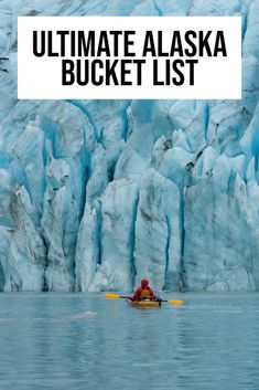 Wanting to fill your Alaska bucket list with a variety of adventures? This epic list of Alaskan adventures will be the best bucket list! | Alaska travel | Alaska cruise | Alaska travel tips | Alaska bucket list challenge | Alaska must see bucket lists | Alaska adventure bucket lists | travel Alaska | #Alaska #Alaskabucketlist #USAtravel Moving To Alaska, Alaska Travel, Travel Usa, Alaska Cruise Tips, Travel Tips, Alaska Trip, Fairbanks Alaska, Anchorage Alaska, Alaskan Cruise