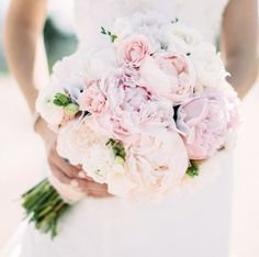 Soft Pink Wedding Bouquets To Fall In Love With ❤︎ Wedding planning ideas & inspiration. Wedding dresses, decor, and lots more. Small Wedding Bouquets, Peony Bouquet Wedding, Peonies Bouquet, Bride Bouquets, Bridal Flowers, Floral Wedding, Trendy Wedding, Pink Peonies, Wedding Ideas