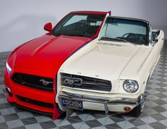 Ford welded 2 Mustangs together to celebrate automotive innovation