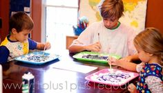 Starry Night Home Art Studio Project