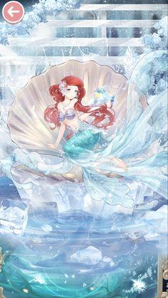 Mermaid Wallpapers, Disney Artwork, Disney Princess Anime, Anime Princess, Cool Anime Pictures, Cute Art, Disney Wallpaper, Disney Princess Drawings, Cute Disney Drawings