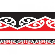 Trimmers of well known Maori patterns in bold, traditional designs. These borders look amazing framing doorways, windows, whiteboards and display area. Fantastic Maori teaching resources for the classroom. Polynesian Tribal Tattoos, Polynesian Art, Border Pattern, Border Design, Pattern Design, Maori Symbols, Lower Leg Tattoos, Cultural Patterns, Maori Patterns