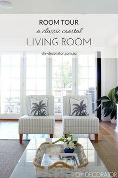Room Tour – Classic Coastal Living Room