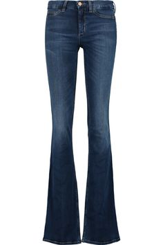 M.I.H JEANS Skinny Marrakesh Mid-Rise Flared Jeans. #m.i.hjeans #cloth #jeans