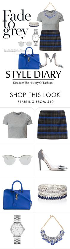 """""""E D I N B U R G H"""" by s-a-c1 ❤ liked on Polyvore featuring The Kooples, Fendi, Gianvito Rossi, Yves Saint Laurent, River Island, Marc by Marc Jacobs, women's clothing, women, female and woman"""