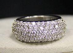 (20-00129-02) 14k White Gold 1.80 cttw Dia Ring